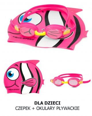 Outlet: dziecięcy czepek + okulary - 80%