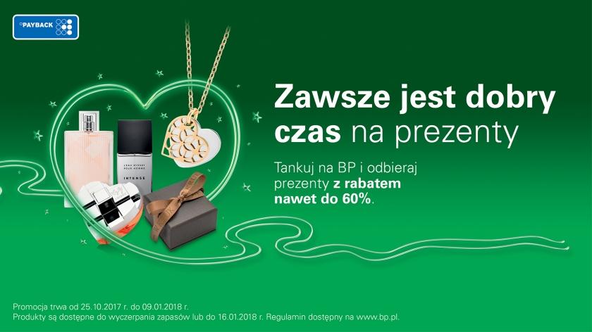 Zniżka do 60% na perfumy/biżuterię za tankowanie na BP z kartą Payback