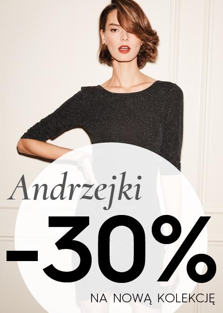 - 30% na nową kolekcję w Top Secret