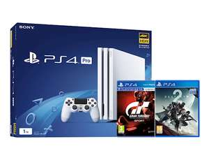 Playstation 4 Pro + Gran Turismo Sport + Destiny 2 za 304£ @Graingergames.co.uk
