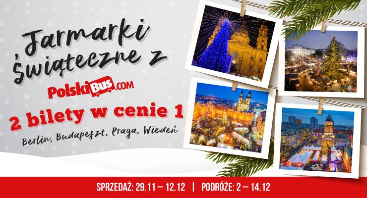 2 bilety w cenie 1 - Berlin, Wiedeń, Praga, Budapeszt