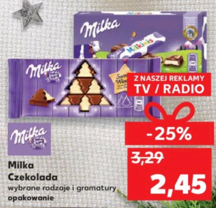 Czekolada Milka - Kaufland