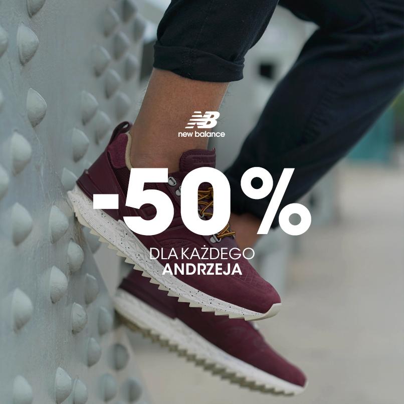 New Balance - Galeria Katowicka 30% i 50% rabatu