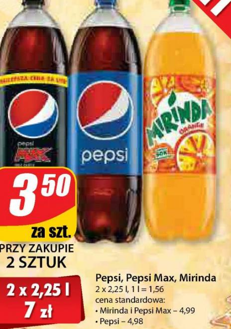 Dino: Pepsi, Miranda, Pepsi MAX 2 x 2,25