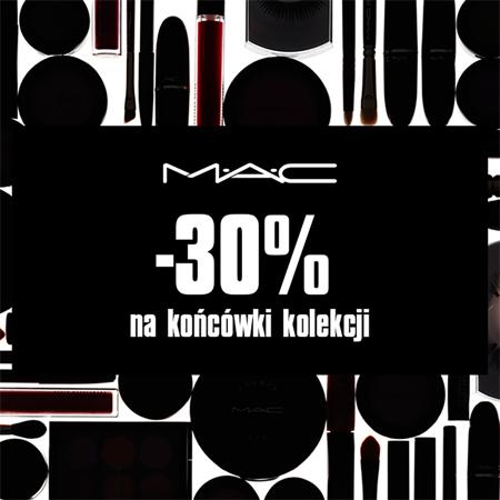-30% na końcówki kolekcji @ MAC