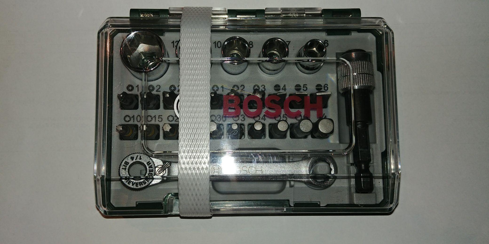 Zestaw bitów Bosch 27 części za 2,80 zł w Kauflandzie