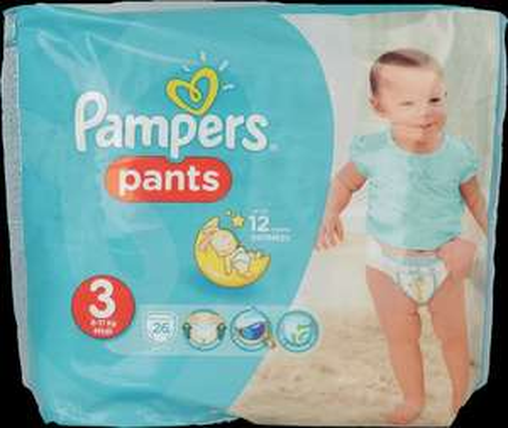 Pampers, Pants, pieluchomajtki, Midi 3, 6-11 kg, 26 szt.