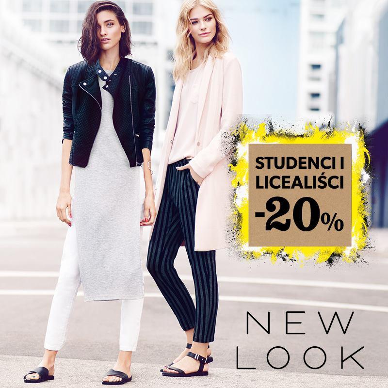 Rabat 20% dla studentów i licealistów @ New Look