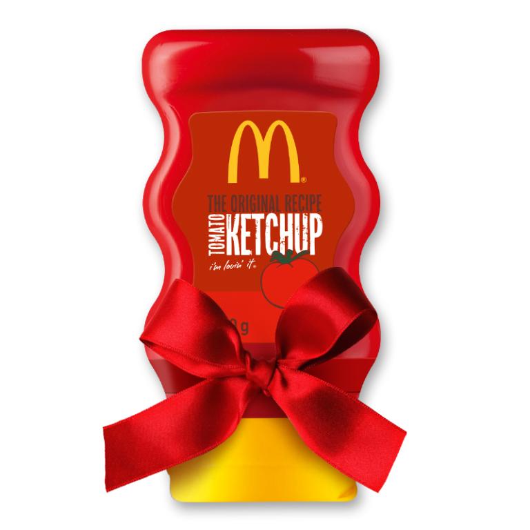 Darmowy ketchup oraz świąteczny prezent