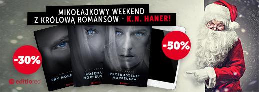 Książki -30%, ebooki -50%. Mikołajkowy weekend z bestsellerowymi autorami @ Sensus