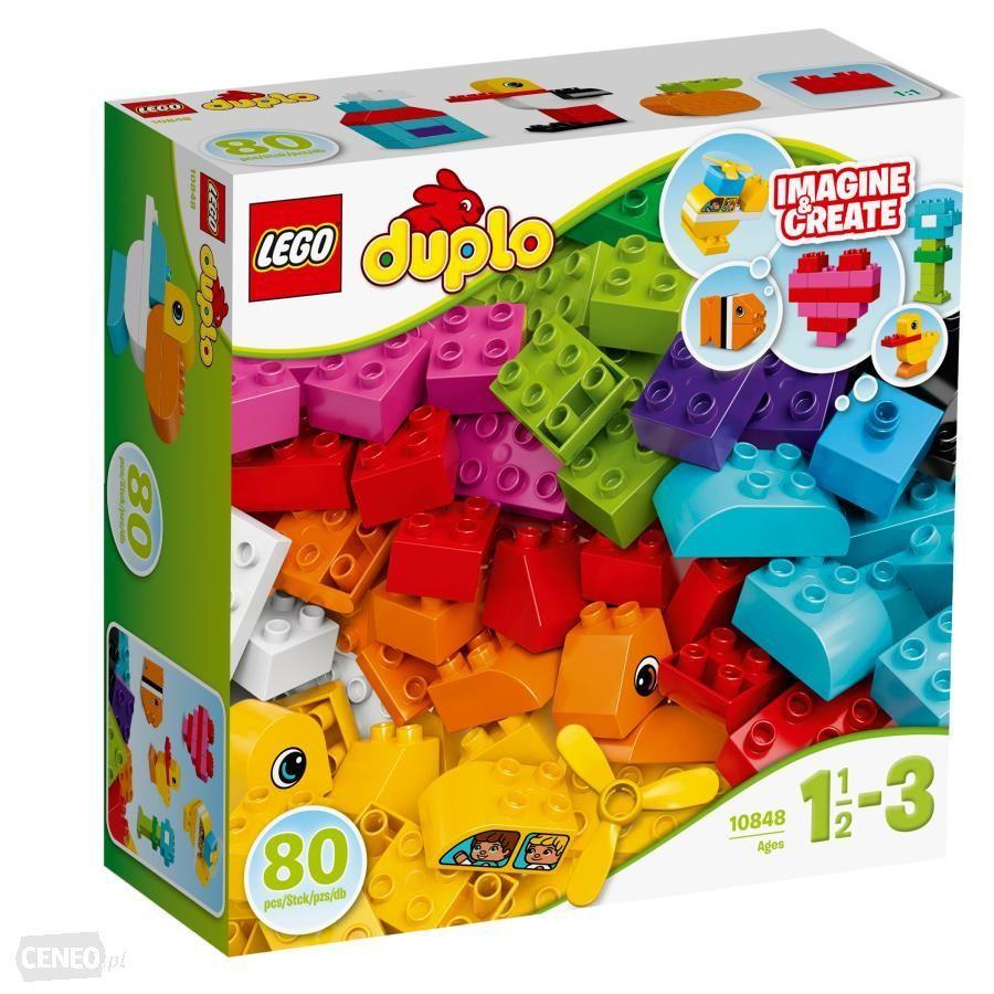 Stokrotka LEGO DUPLO 10848 Moje pierwsze klocki pod choinkę