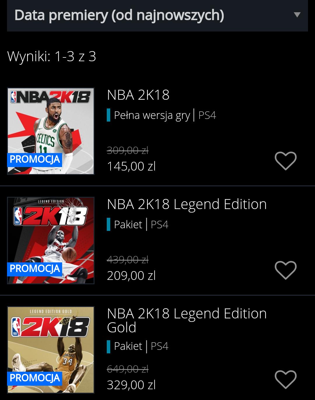 NBA 2K18 PS4 @ Playstation Store
