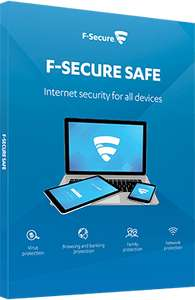 F-Secure SAFE na rok za darmo - 5 stanowisk (iOS, MAC, PC, Android)
