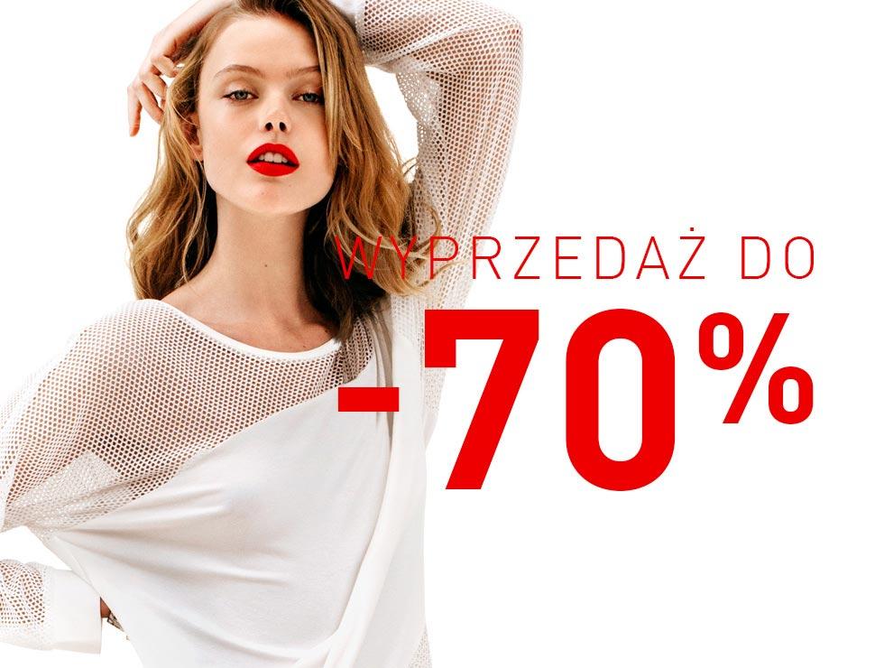 wyprzedaż kolekcji męskiej oraz damskiej do -70% @ Reserved