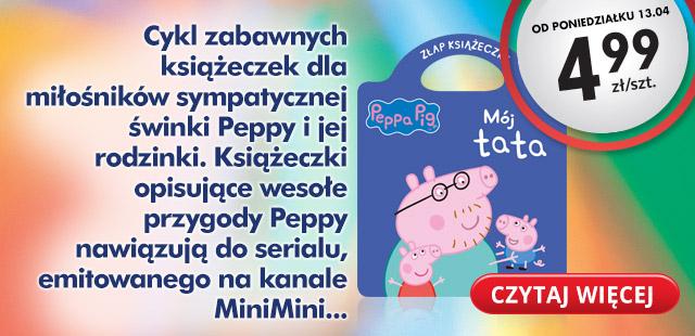 Książeczki dla dzieci za 4,99zł @ Biedronka
