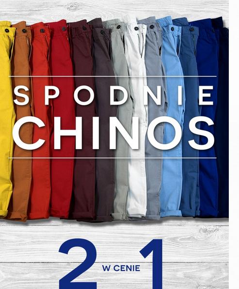 Spodnie typu chinos  2 w cenie 1 @ Bytom