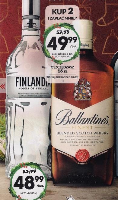 Ballantine's 1L (i wiele innych) Biedronka