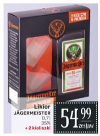 Jagermeister 0,7 L + 2 kieliszki w Carrefour