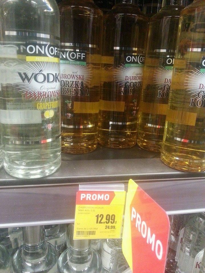Wódka Korzenna Dąbrowski 40% 0,5L - INTERMARCHE