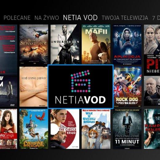 @Netia VOD 50 filmów za darmo dla użytkowników TV Osobistej!