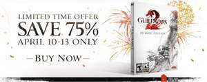 Guild Wars 2 DIGITAL HEROIC EDITION za 9,99euro lub DIGITAL DELUXE EDITION za 15euro (-75%!)