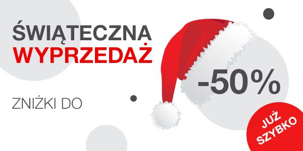 Lux Express - Świąteczna wyprzedaż, zniżki do 50%, od 07.12 do 13.12