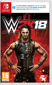 [Nintendo Switch] WWE 2K18