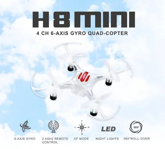 9.99 $ JJRC H8 Mini 2.4G 4CH Brushed RC Drone