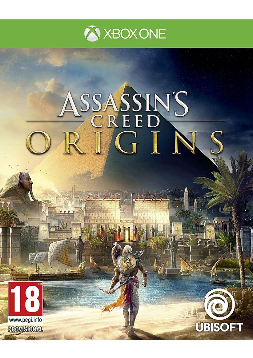 Assassins Creed: Origins, pudełko - Xbox One
