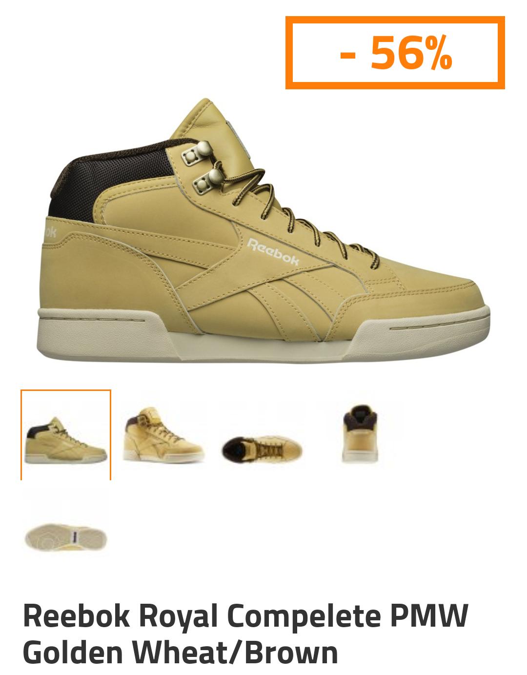 Reebok Royal Compelete PMW Golden Wheat/Brown @Sportowysklep.pl