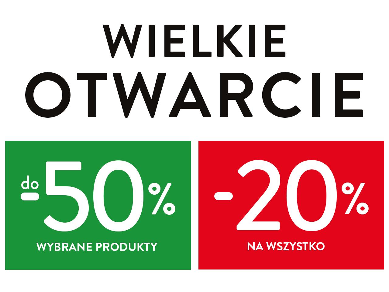 Wszystko -20% i -50% na wybrane produkty! Otwarcie sklepu Komfort w Chrzanowie