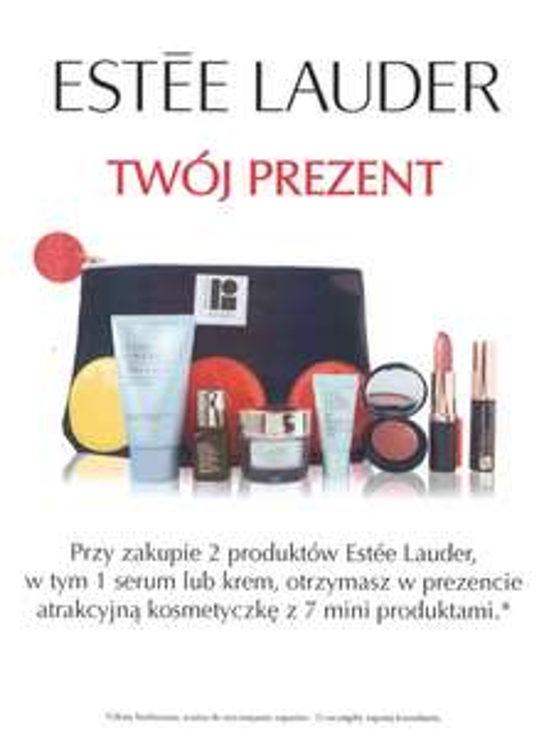 PREZENT przy zakupie dwóch produktów @ Estee Lauder
