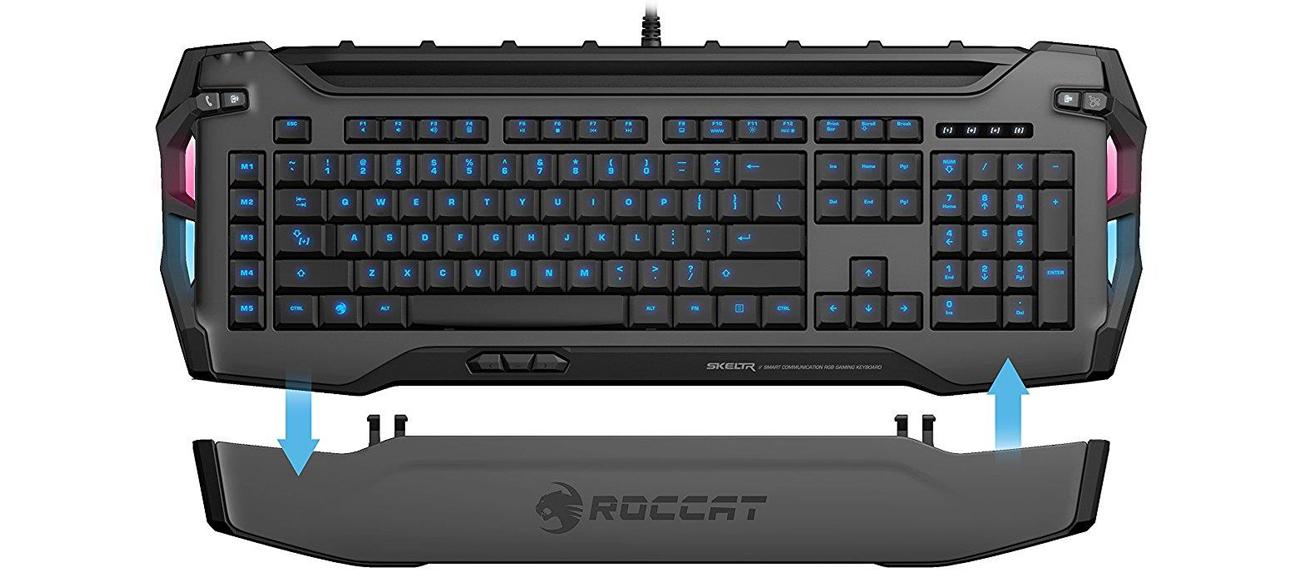 Klawiatura Roccat Skeltr Gaming RGB (Szara)