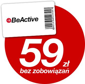 Miesiąc gratis na karcie Be-Active