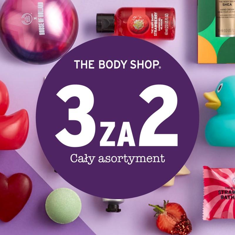 3 za 2 na cały asortyment @ The Body Shop