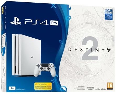 PS4 PRO 1TB + Destiny 2 + To jesteś Ty Voucher + PS Plus 14 dni