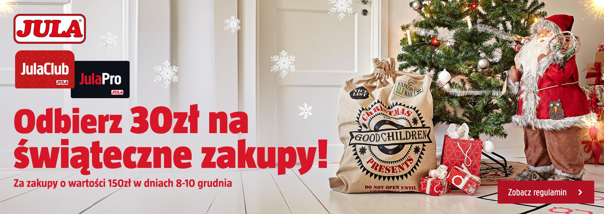 Jula Club - voucher 30 zł za wydane 150 zł