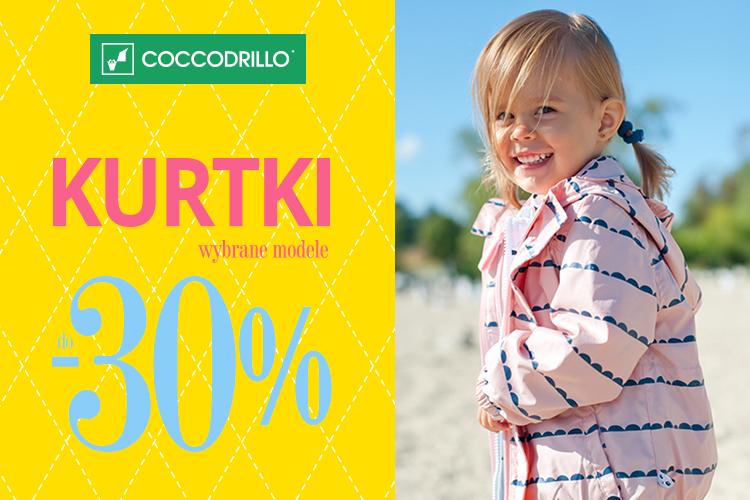 Rabaty do -30% na kurtki wiosenne @ Coccodrillo