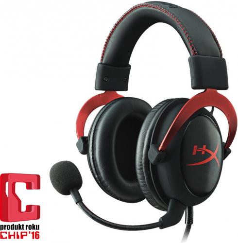 Słuchawki HyperX Cloud II Red 7.1 (KHX-HSCP-RD)