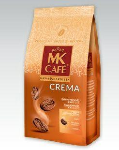 Kawa ziarnista MK Cafe Crema, 500 g   Idealna do latte macchiato