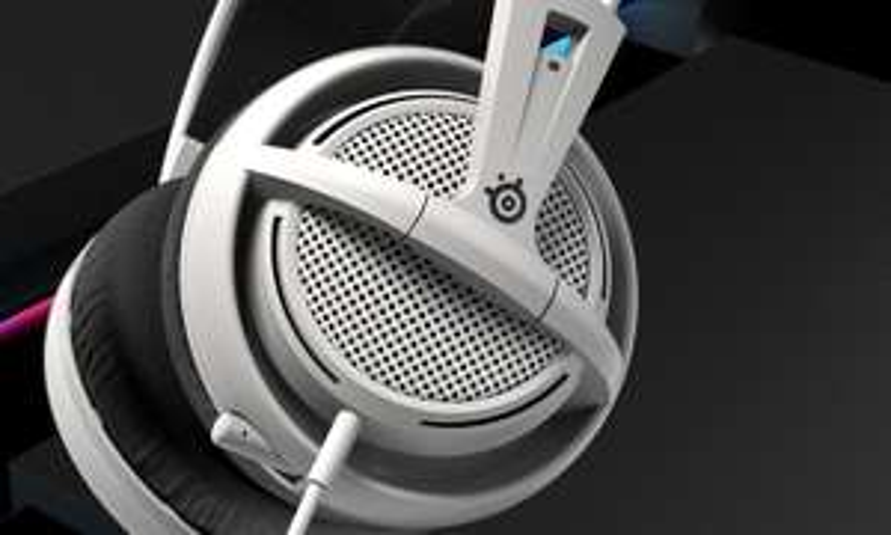 SteelSeries Siberia 200 Białe