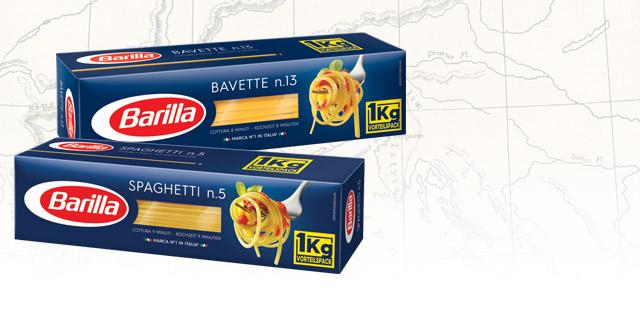 Makaron spaghetti Barilla 1 kg @ biedronka