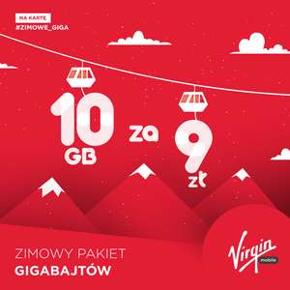 @Virgin Mobile zimowy pakiet 10GB