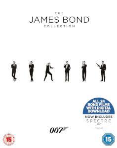 James Bond Collection 1-24 Bluray [ANG]