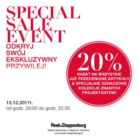 Dodatkowe 20% zniżki na przecenione ubrania @ Peek&Cloppenburg (Galeria Katowicka)