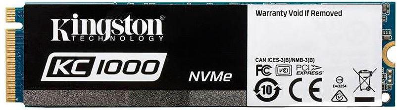 Dysk SSD Kingston KC1000 240GB PCIe x4 NVMe