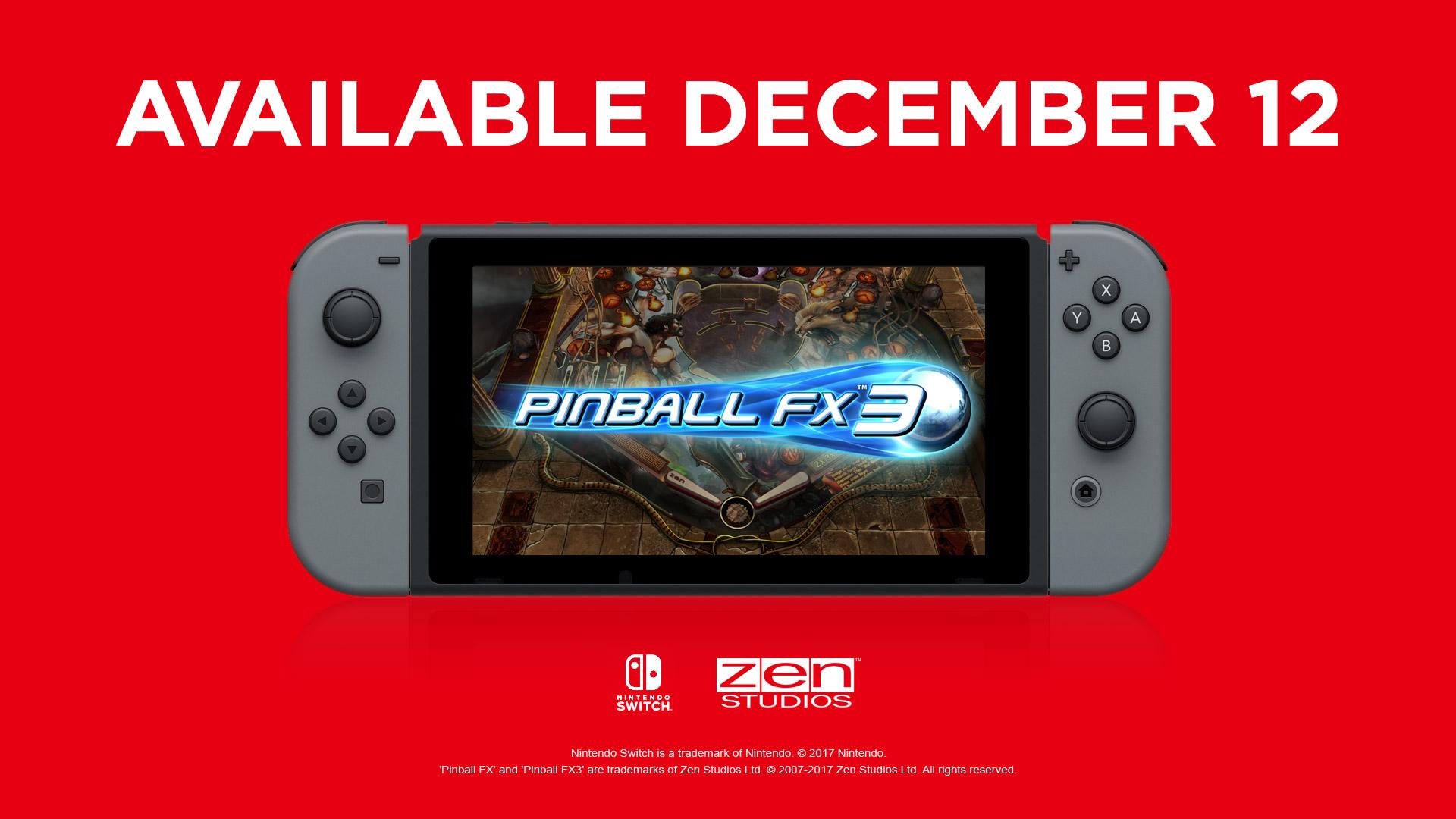 [Nintendo Switch] Pinball FX 3 z trzema darmowymi stołami