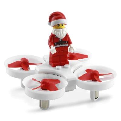 Dron JJRC H67 (ulepszona wersja H36) z Mikołajem w zestawie