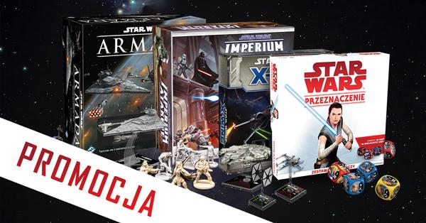 Promocyjne ceny na gry planszowe i karciane w świecie STAR WARS.