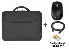 (AKTUALIZACJA) Torba na laptopa + mysz bezprzewodowa + kabel HDMI + karta sim z 1GB transferu @ X-Kom